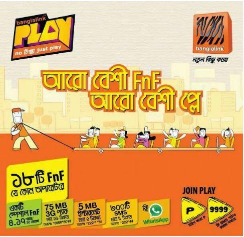 Banglalink play package
