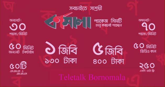 Teletalk Bornomala