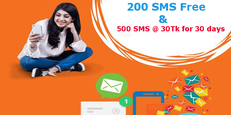 Banglalink SMS Pack Unlimited Free SMS for all Banglalink SIM